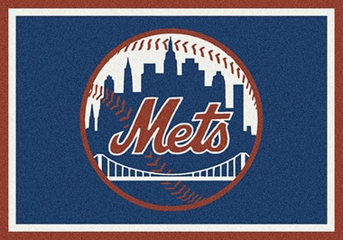 "New York Mets 7'8"" x 10'9"" Premium Spirit Rug"