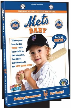 New York Mets Baby DVD