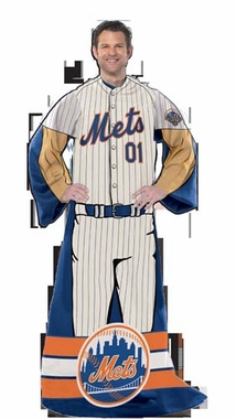New York Mets Comfy Wrap (Uniform)