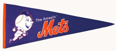 New York Mets Cooperstown Wool Pennant