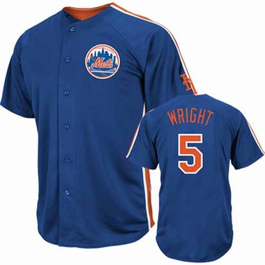 New York Mets David Wright Crosstown Rivalry Jersey