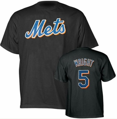 New York Mets David Wright Name and Number T-Shirt