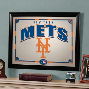 New York Mets Framed Mirror
