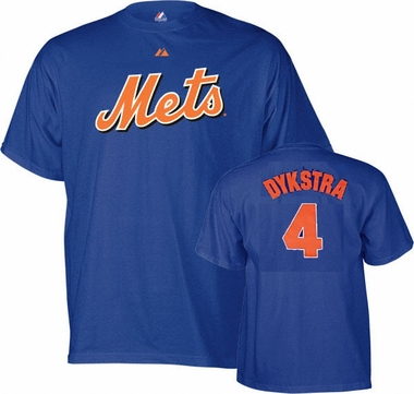 New York Mets Lenny Dykstra Name and Number T-Shirt
