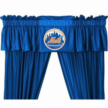 New York Mets Logo Jersey Material Valence