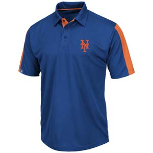 New york mets majestic career maker performance polo for Polo shirt maker online