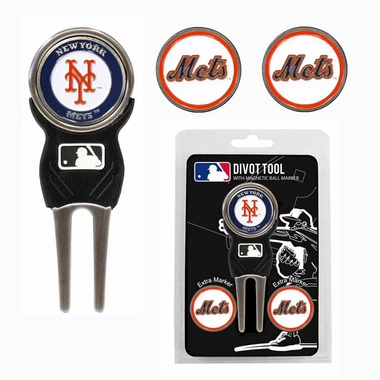 New York Mets Repair Tool and Ball Marker Gift Set
