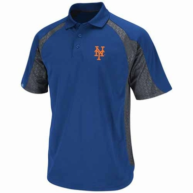New York Mets Season Pass Performance Polo Shirt - Royal