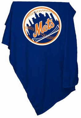 New York Mets Sweatshirt Blanket