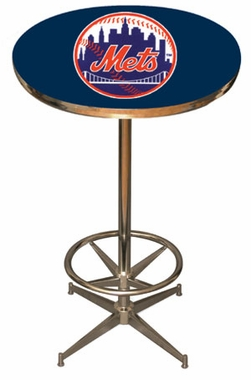 New York Mets Team Pub Table