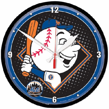 New York Mets Wall Clock (Mascot)
