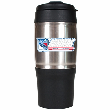 New York Rangers 18oz Oversized Travel Tumbler