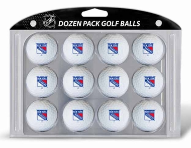 New York Rangers Dozen Golf Balls