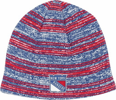New York Rangers Heathered Cuffless Knit Hat