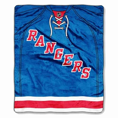 New York Rangers Plush Blanket