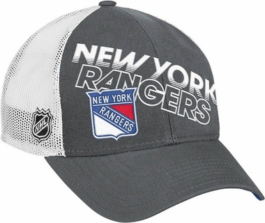 New York Rangers TNT Trucker Flex Fit Mesh Back Hat