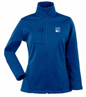 New York Rangers Womens Traverse Jacket (Color: Blue)
