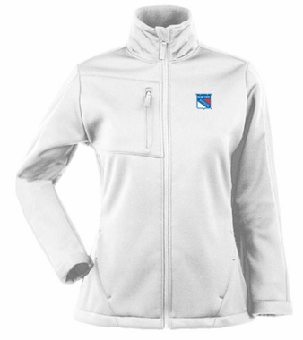 New York Rangers Womens Traverse Jacket (Color: White)