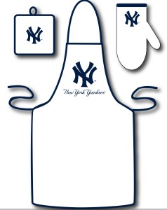 New York Yankees Grilling Apron Set