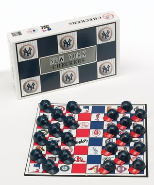 New York Yankees Checkers Set