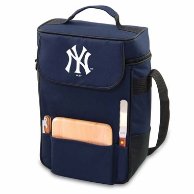 New York Yankees Duet Compact Picnic Tote (Navy)