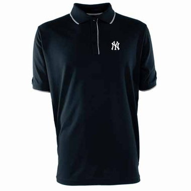 New York Yankees Mens Elite Polo Shirt (Color: Navy)
