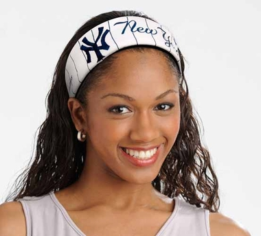 New York Yankees FanBand Hair Band