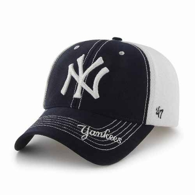 New York Yankees Flux Structured Adjustable Mesh Hat