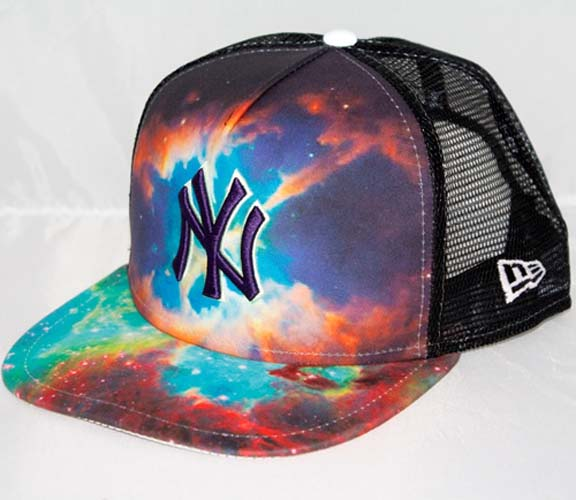 New York Yankees New Era 9fifty Mlb Quot Galaxy Quot Snapback Hat