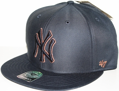 New York Yankees Oath Metallic Snap Back Hat