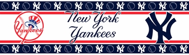 New York Yankees Peel and Stick Wallpaper Border