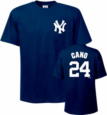 New York Yankees Robinson Cano Name and Number T-Shirt