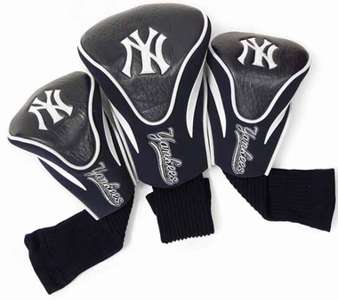 New York Yankees Set of Three Contour Headcovers