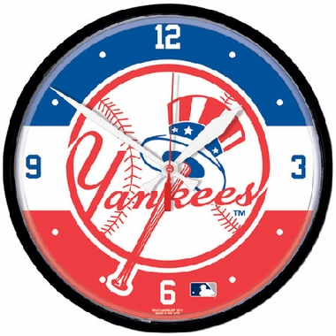 New York Yankees Wall Clock (Tophat)