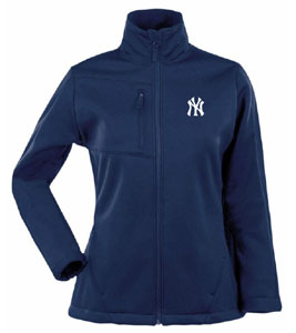 New York Yankees Womens Traverse Jacket (Color: Navy) - Medium