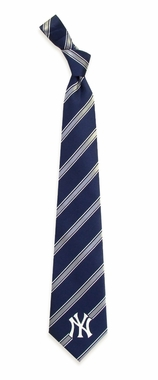 New York Yankees Woven Poly 1 Necktie