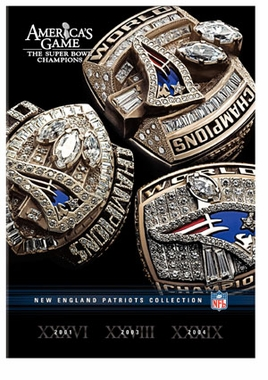 NFL Americas Game: New England Patriots DVD