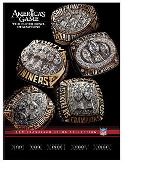 NFL Americas Game: San Francisco 49ers DVD