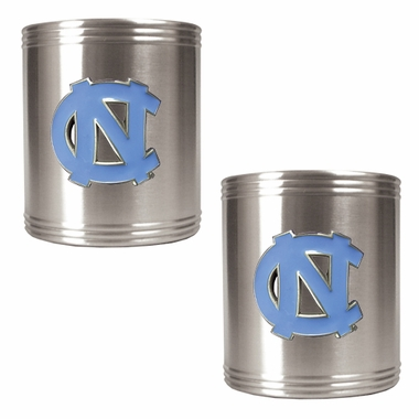 North Carolina 2 Can Holder Set