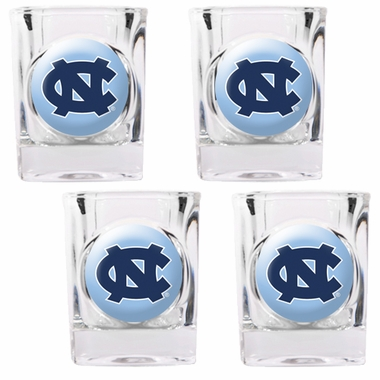 North Carolina 4 Piece Shot Glass Set