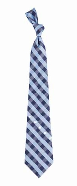 North Carolina Check Poly Necktie