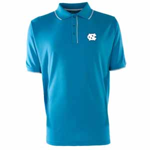 North Carolina Mens Elite Polo Shirt (Color: Aqua) - Large
