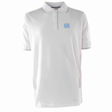 North Carolina Mens Elite Polo Shirt (Color: White)