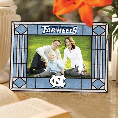 North Carolina Landscape Art Glass Picture Frame