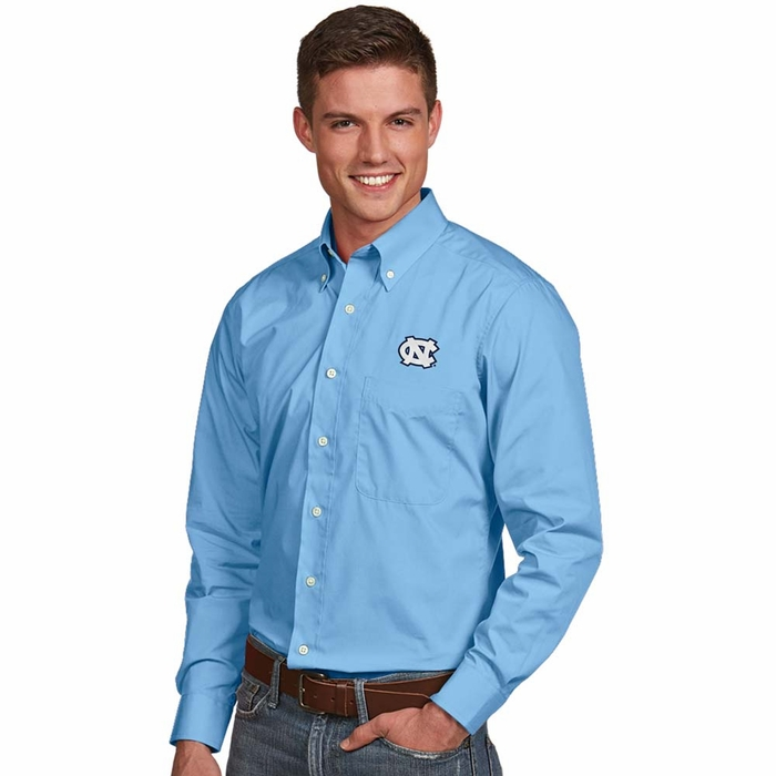North carolina mens dynasty button down dress shirt color for College button down shirts