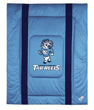 North Carolina SIDELINES Jersey Material Comforter