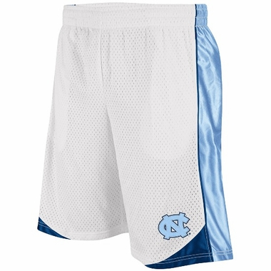 North Carolina Vector Performance Shorts (White)