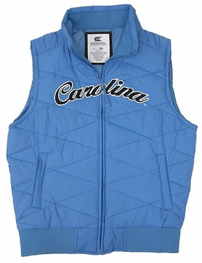 North Carolina Womens Bubble Vest