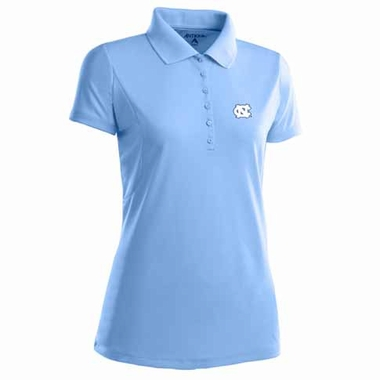 North Carolina Womens Pique Xtra Lite Polo Shirt (Color: Aqua)