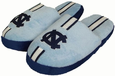 North Carolina YOUTH Team Stripe Slide Slippers - Large